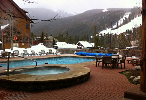 Keystone River Run Hot Tub ~ Tips for Family Ski Trips from a Former Scaredy Cat Skier