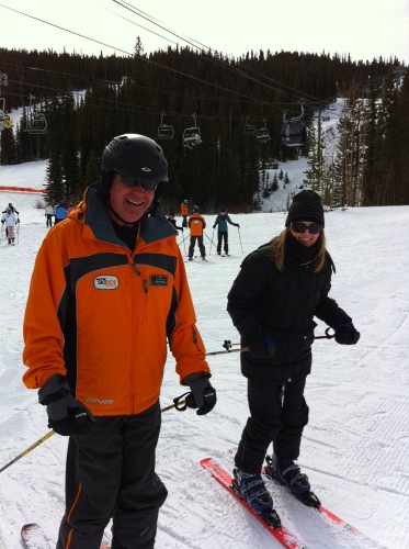 Skiing Keystone Mountain Colorado ~ Tips for Family Ski Trips from a Former Scaredy Cat Skier