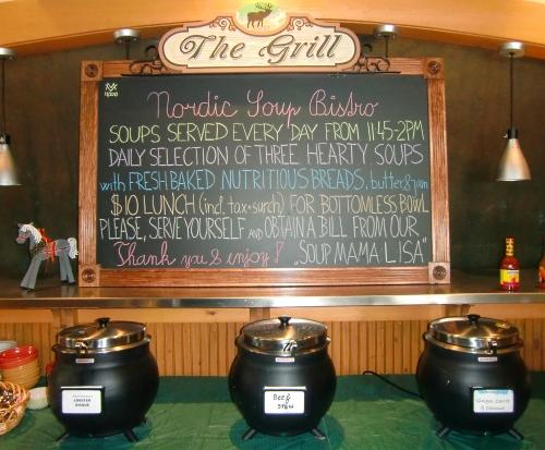 Keystone Ski Resort Dining - Nordic Soup Buffet