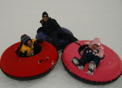 Tubing with Kids Keystone Mountain ~ Tips for Family Ski Trips from a Former Scaredy Cat Skier
