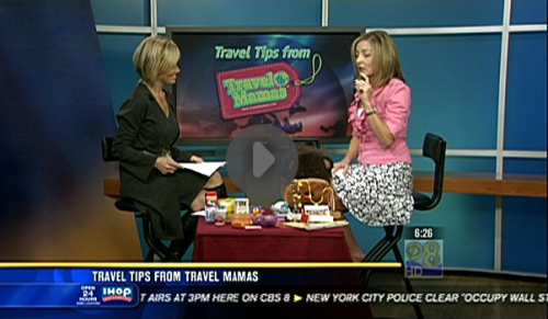Travel Tips with Travel Mamas on Channel 8 KFMB San Diego