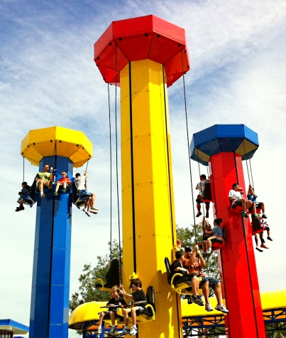 Kidpower Tower is one of 50 rides, shows, shops, and attractions at the new LEGOLAND Florida theme park