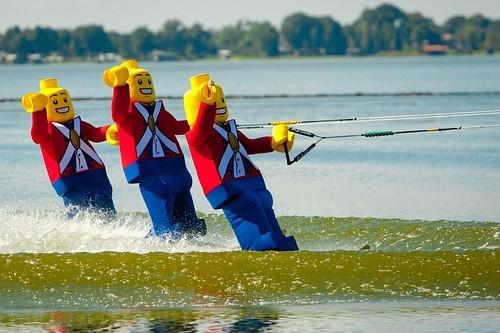 Legoland Florida water ski show