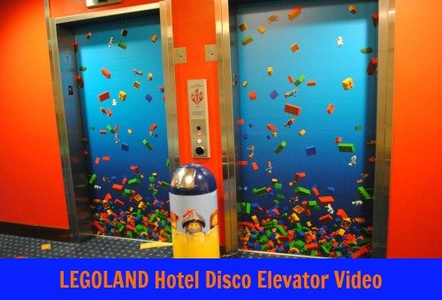 LEGOLAND Hotel Disco Elevator Video