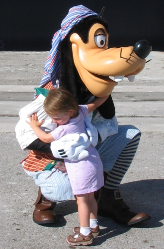Goofy on Disney Mediterranean Cruise