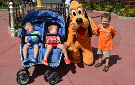 Magic Kingdom with babies, toddlers, and preschoolers