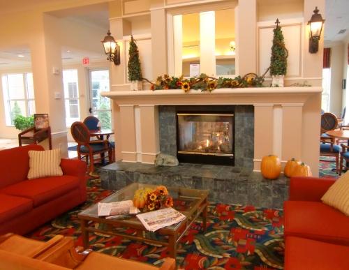 Hilton Garden Inn Freeport Lobby