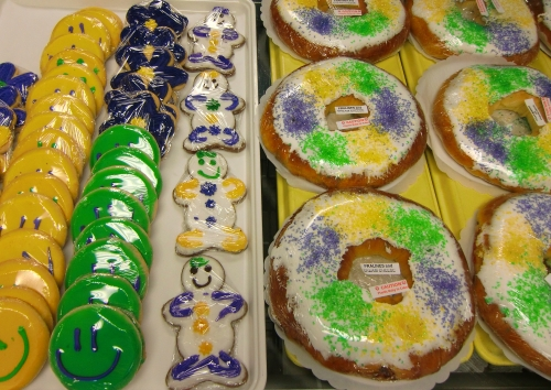 Mardi Gras King Cakes in Shreveport-Bossier, Louisiana