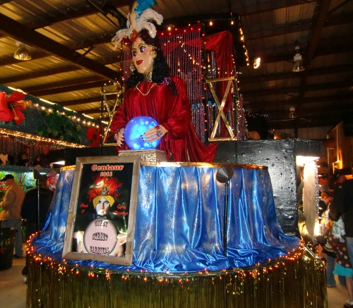 Mardi Gras Krewe of Centaur Parade Float Shreveport-Bossier Louisiana