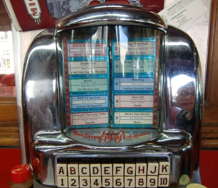 Mickey's Diner jukebox