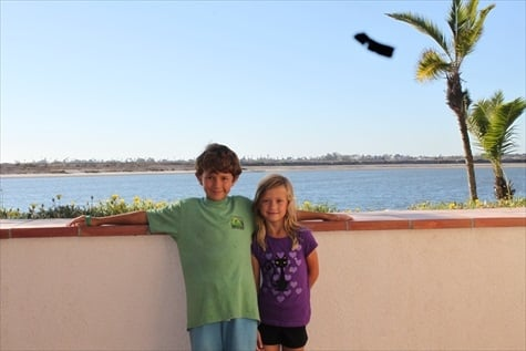 Kids at Hilton San Diego Resort and Spa on Mission Bay