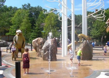 minnesota zoo splash area