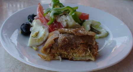 pigeon pie in morocco