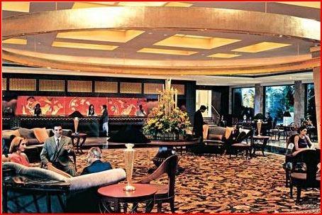 The lobby of the prestigious Taj Mahal Hotel in Colaba - Mumbai, India with Kids