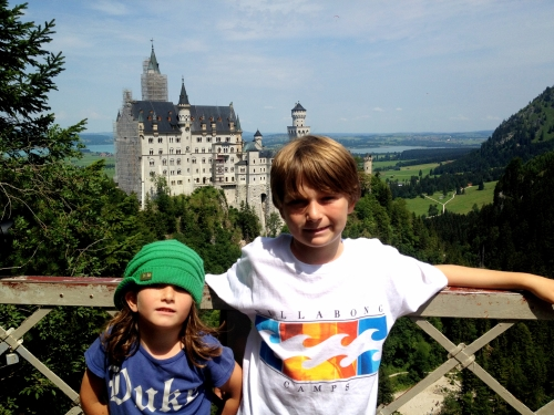 Neuschwanstein castle ~ Munich with kids