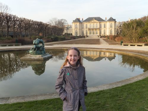 Musee Rodin with kids