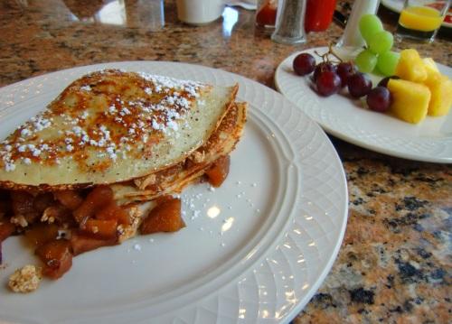Hilton Garden Inn Napa breakfast