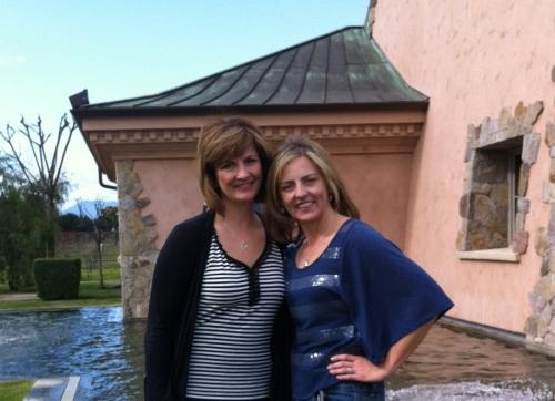 Sisters at Napa's Peju Winery
