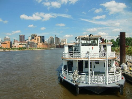Padelford Riverboat in St. Paul, Minnesota