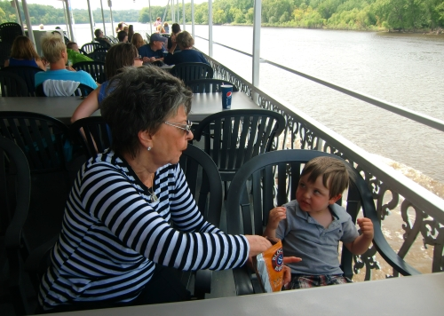 Padelford Riverboat food