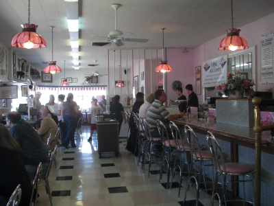 The Sugar Bowl ice cream parlor in Old Scottsdale (Photo credit: Colleen Lanin)