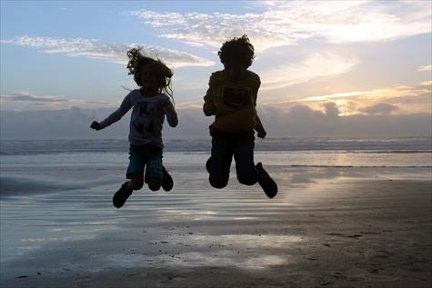 A joy-filled beach sunset - Pismo beach