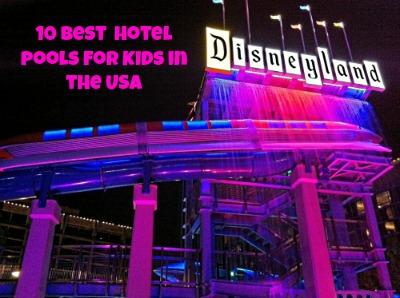 Disneyland Hotel Monorail Pool