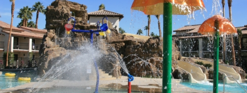Splashtopia Pool at Rancho Las Palmas Resort