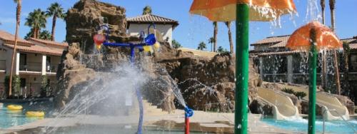 Splashtopia Pool at Rancho Las Palmas Resort
