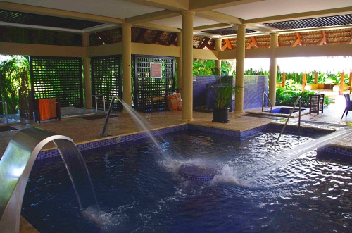 ECO Spa pool at Paradisus Palma Real in Punta Cana, Dominican Republic