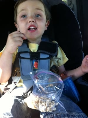 Road Trip Snacks, Toys and Games for Children