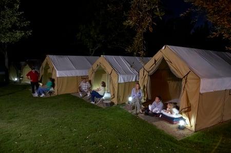 San Diego Zoo Safari Park tents