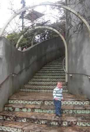 San Antonio's River Walk stairs
