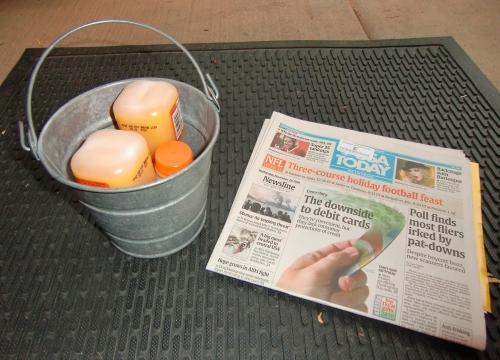 Enchantment Resort Orange Juice Delivery