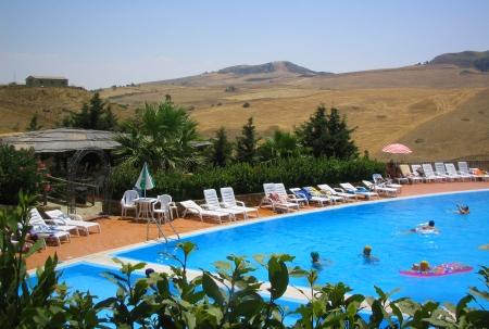Sicilian Swimming Pool