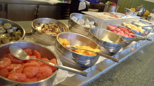 Breakfast Buffet at San Juan Marriott