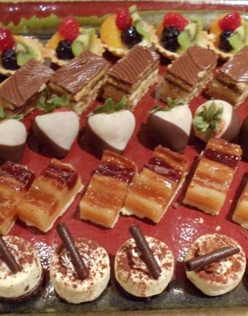 Dessert Tray at Ristorante Tuscany