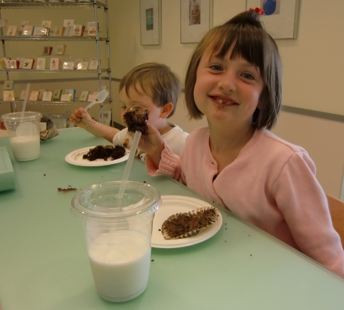 Chocolate Cupcakes at SusieCakes