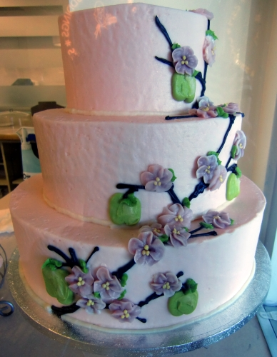 Wedding Cake at Susie Cakes in Newport Beach