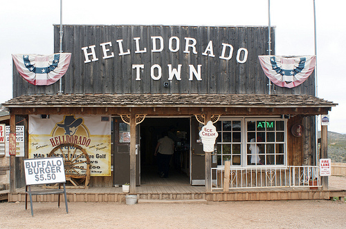Helldorado Tombstone, Arizona ghost town ~ Halloween in Tombstone