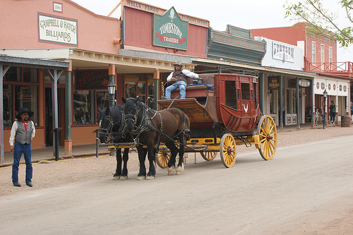 Tombstone, Arizona ghost town ~ Halloween in Tombstone