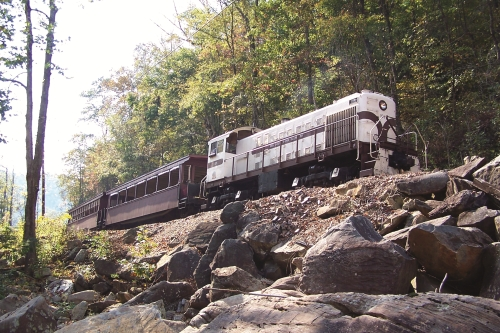 Big Fork Scenic Railway Kentucky ~ Train Rides with Kids