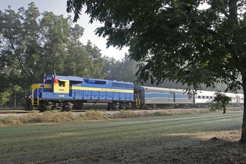 Riders on the SAM Shortline will travel through and visit several towns in South Georgia ~ Train Rides with Kids