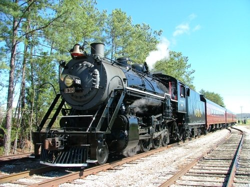 Tennessee Valley Railroad Chattanoga ~ Train Rides with Kids