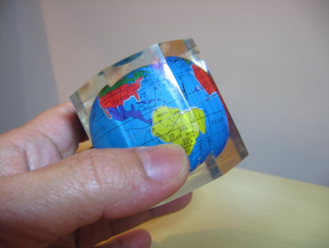 Small world globe