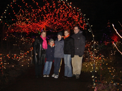 Festival of Lights at VanDusen Gardens (Photo by Claudia LaRoye) - Christmas Fun