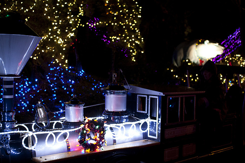 Bright Nights Christmas Train at Stanley Park - Christmas Fun