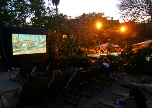 Disney Movie Under the Stars at Animal Kingdom Lodge Villas