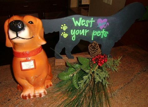 West Inn and Suites pet check-in