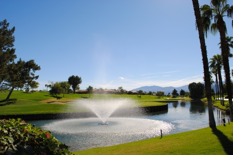Palm Springs golf course at Westin Mission Hills